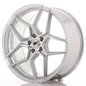 "Jante JAPAN RACING JR34 20"" x 9"" 5x112 ET 40 Machined Face Silver"