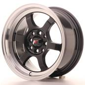 "Jante JAPAN RACING JR12 15"" x 7,5"" 4x108 4x100 ET 26 Black"