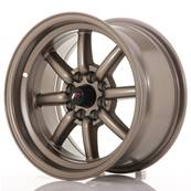 "Jante JAPAN RACING JR19 15"" x 8"" 4x108 4x100 ET 0 Bronze"