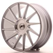 "Jante JAPAN RACING JR22 18"" x 7,5"" Multi Perçage ET 35-42 Machined Face Silver"