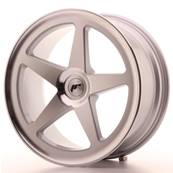 "Jante JAPAN RACING JR24 19"" x 8,5"" Multi Perçage ET 35-40 Machined Face Silver"