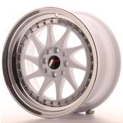 "Jante JAPAN RACING JR26 16"" x 8"" 4x108 4x100 ET 25 White"