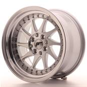 "Jante JAPAN RACING JR26 16"" x 9"" 4x100 4x108 ET 20 Machined Face Silver"