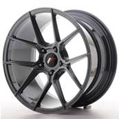 "Jante JAPAN RACING JR30 18"" x 9,5"" 5x120 ET 35 Hiper Black"