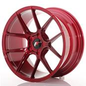 "Jante JAPAN RACING JR30 18"" x 9,5"" Multi Perçage ET 20-40 Red"