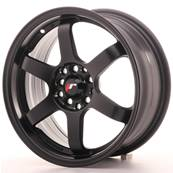 "Jante JAPAN RACING JR3 16"" x 7"" 4x108 4x100 ET 25 Black"