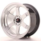 "Jante JAPAN RACING JR12 17"" x 9"" 5x120 5x112 ET 25 Silver"