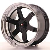 "Jante JAPAN RACING JR12 17"" x 9"" Multi Perçage ET 25 Black"