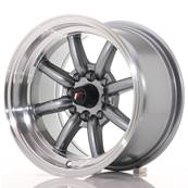 "Jante JAPAN RACING JR19 14"" x 8"" 4x114,3 4x100 ET -13 Gun metal"