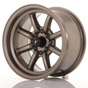 "Jante JAPAN RACING JR19 14"" x 8"" 4x100 4x114,3 ET -13 Bronze"