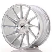 "Jante JAPAN RACING JR22 18"" x 9,5"" Multi Perçage ET 20-40 Machined Face Silver"