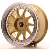 "Jante JAPAN RACING JR26 17"" x 8"" Multi Perçage ET 20-35 Gold"