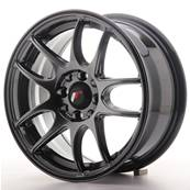 "Jante JAPAN RACING JR29 15"" x 7"" 4x108 4x100 ET 35 Hiper Black"