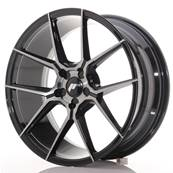 "Jante JAPAN RACING JR30 19"" x 8,5"" Multi Perçage ET 20-40 Black Brushed"