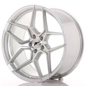 "Jante JAPAN RACING JR34 20"" x 10"" 5x120 ET 40 Silver Machined Face"