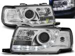 Paire de feux phares Audi 80 B4 91-96 Daylight led chrome