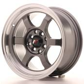 "Jante JAPAN RACING JR12 15"" x 7,5"" 4x100 4x114,3 ET 26 Gun metal"