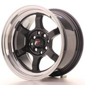 "Jante JAPAN RACING JR12 15"" x 8,5"" 4x100 4x114,3 ET 13 Black"