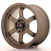 "Jante JAPAN RACING JR12 16"" x 8"" 4x114,3 4x100 ET 15 Bronze"