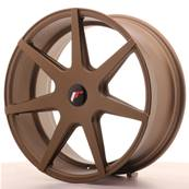 "Jante JAPAN RACING JR20 19"" x 8,5"" Multi Perçage ET 20-40 Bronze"