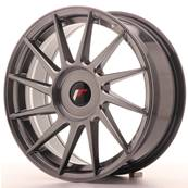 "Jante JAPAN RACING JR22 17"" x 7"" Multi Perçage ET 35-40 Hiper Black"