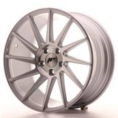 "Jante JAPAN RACING JR22 18"" x 8,5"" 5x112 ET 40 Machined Face Silver"