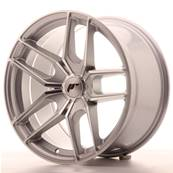 "Jante JAPAN RACING JR25 18"" x 9,5"" Multi Perçage ET 20-40 Machined Face Silver"