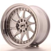 "Jante JAPAN RACING JR26 17"" x 10"" 5x114,3 5x120 ET 20 Machined Face Silver"