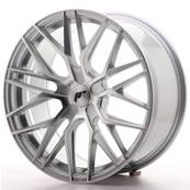 "Jante JAPAN RACING JR28 19"" x 8,5"" Multi Perçage ET 35-40 Silver Machined Face"