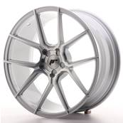 "Jante JAPAN RACING JR30 19"" x 8,5"" Multi Perçage ET 35-40 Machined Face Silver"