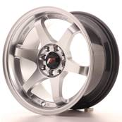 "Jante JAPAN RACING JR3 15"" x 8"" 4x108 4x100 ET 25 Silver"