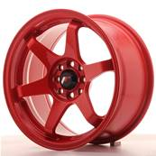"Jante JAPAN RACING JR3 16"" x 8"" 4x108 4x100 ET 25 Red"