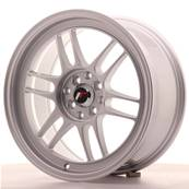 "Jante JAPAN RACING JR7 17"" x 8"" 4x100 4x114,3 ET 35 Silver"