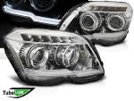 Paire de feux phares Mercedes GLK X204 08-12 LTI led chrome