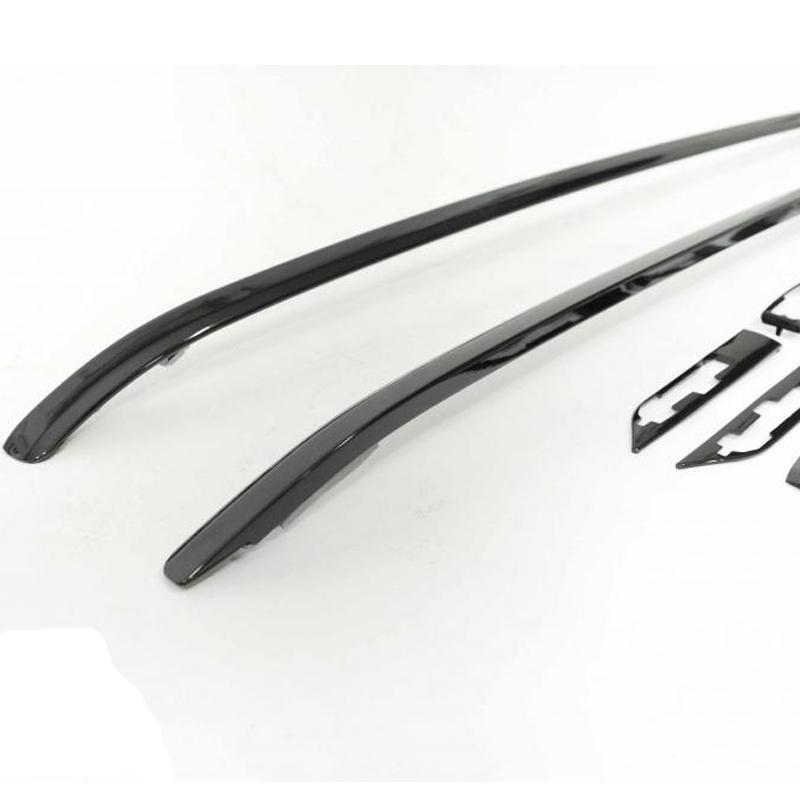 kit de barres de toit noire pour range rover evoque de 2011 2015. Black Bedroom Furniture Sets. Home Design Ideas